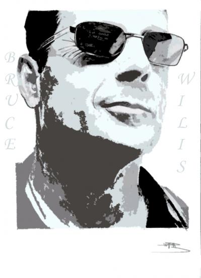 Bruce Willis by orelyw